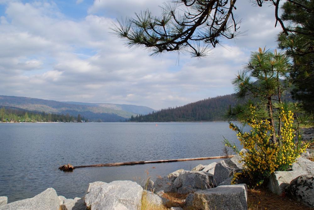 Route roadtrip Amerika Bass Lake