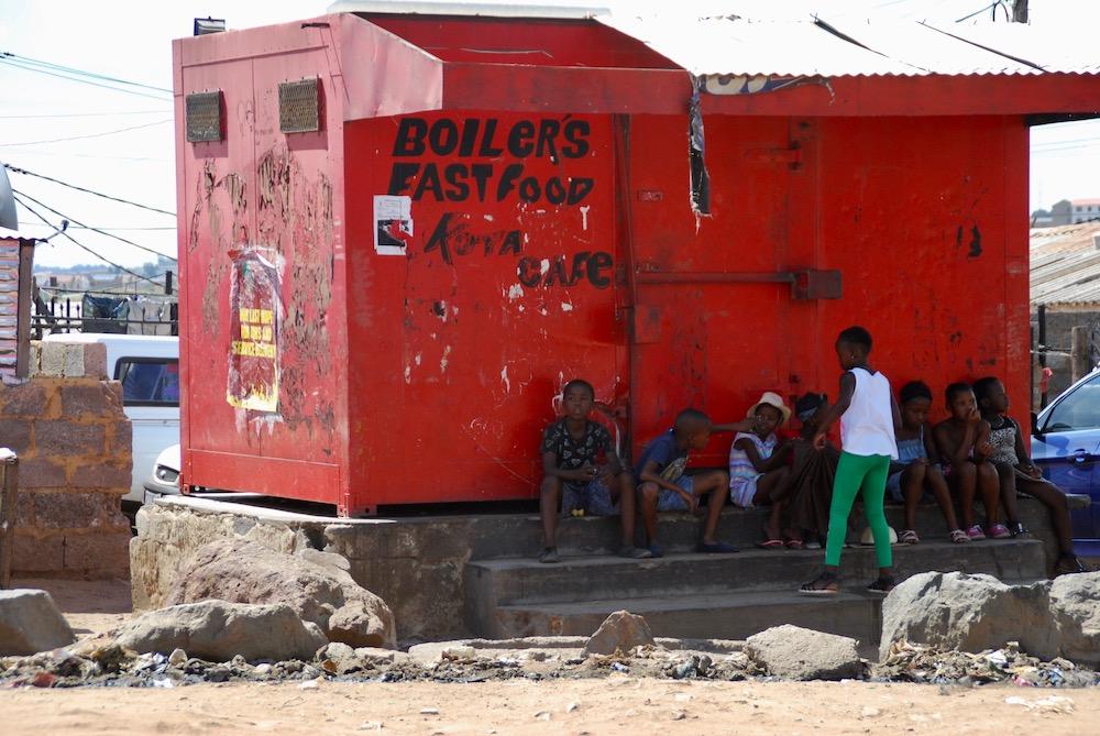 Fietsen door Soweto Johannesburg Zuid-Afrika