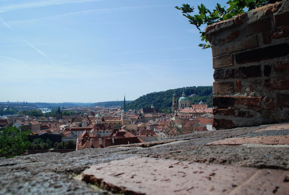 Mooiste uitzichten Praag Tsjechië Praagse Burcht