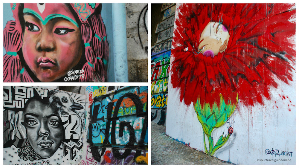 Street art Bairro Alto Lissabon