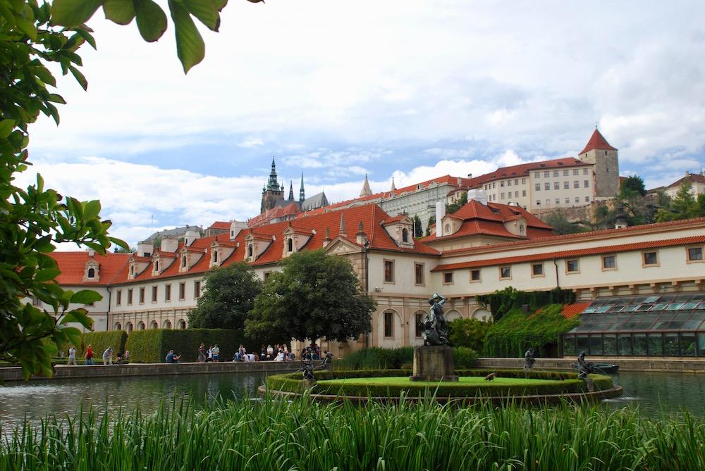 Wallenstein Palace Gardens Praag Tsjechië