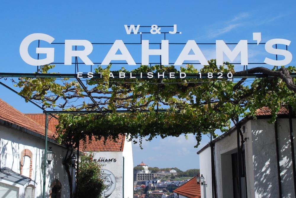 Graham's Port Lodge Porto Portugal