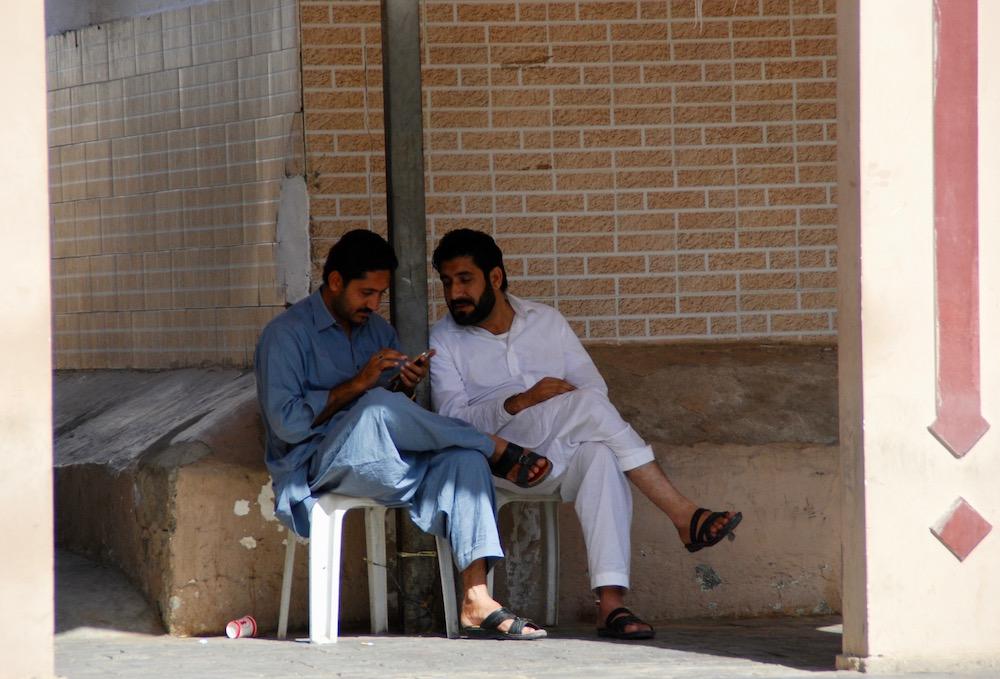 Portretten uit het Midden-Oosten Muttrah Souk Oman