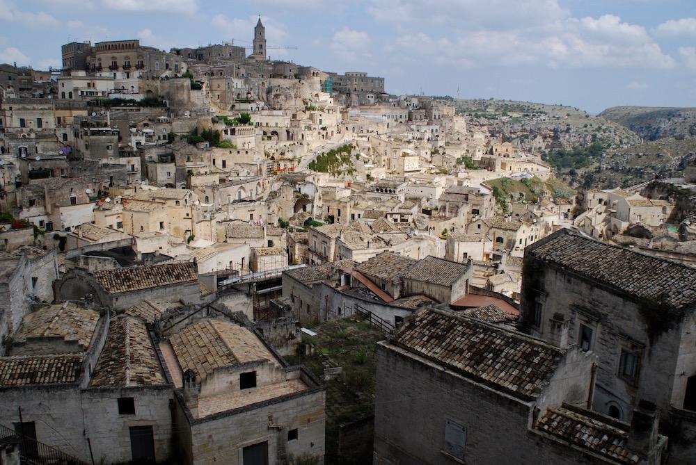 Matera Basilicata Italië