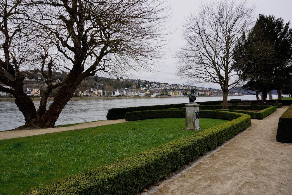Wandelpromenade Koblenz Duitsland