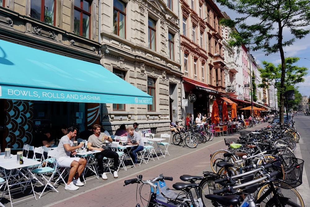Belgisches Viertel Keulen Duitsland
