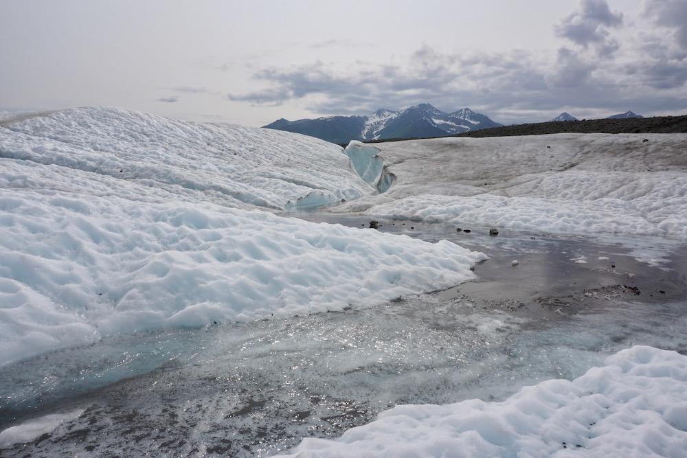 Root Glacier Wrangell St. Elias National Park Alaska Verenigde Staten