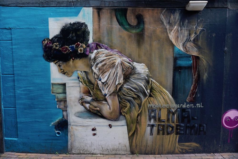 Street art Leeuwarden Friesland Nederland
