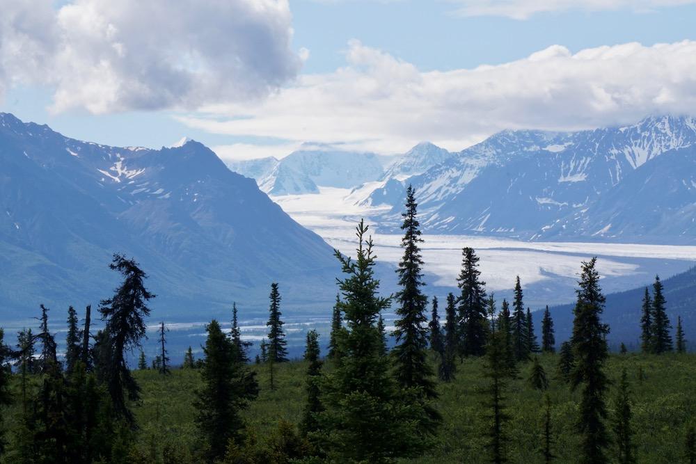 Chugach Mountains Alaska Verenigde Staten
