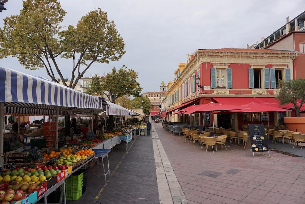 Cours Saleya Nice Frankrijk