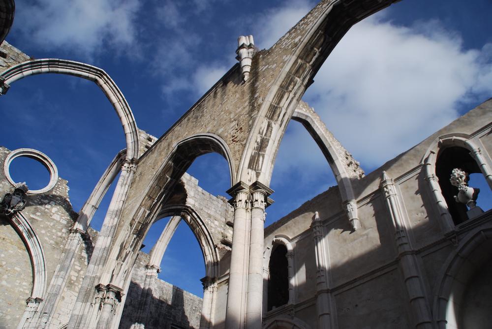 Doen in Lissabon Convento do Carmo Lissabon Portugal