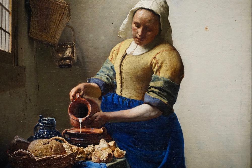 Het Melkmeisje Johannes Vermeer Rijksmuseum Amsterdam