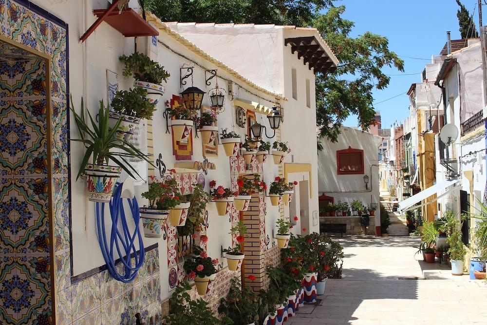 Last minute naar Spanje Barrio de Santa Cruz Alicante