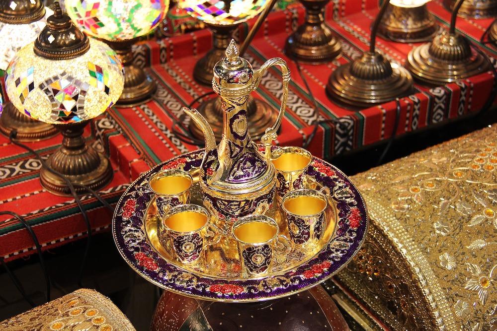 Muttrah Souk in Muscat Oman Midden-Oosten