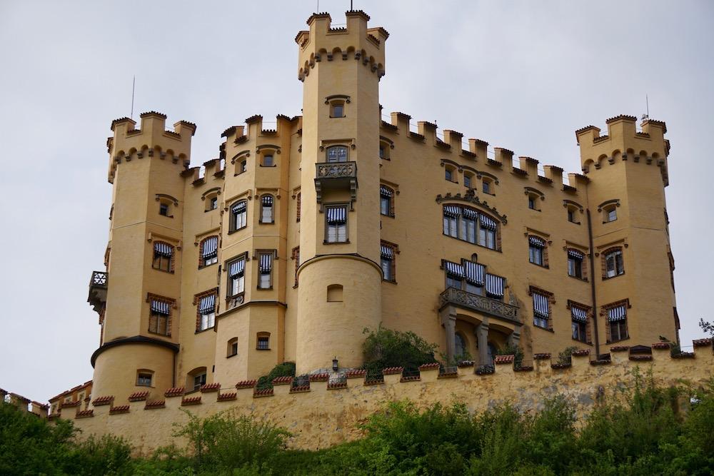 De mooiste kastelen in Duitsland Schloss Hohenschwangau