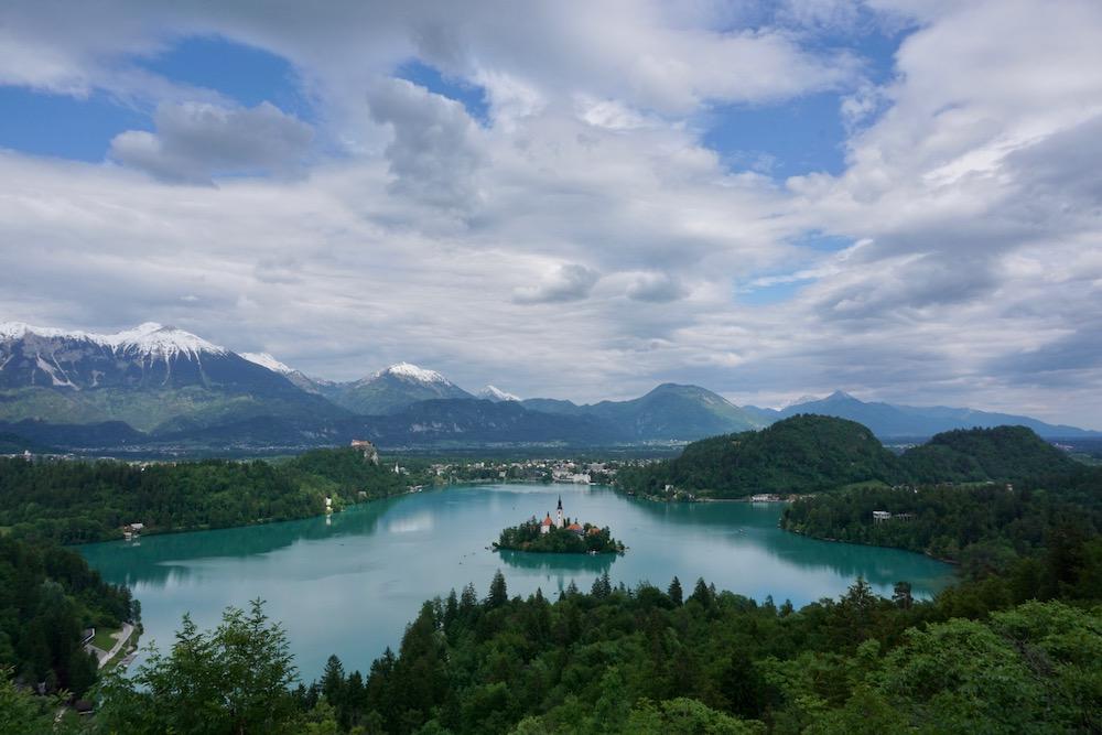 Meer van Bled Slovenië
