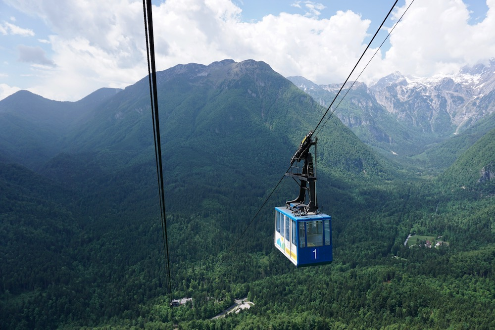 Velika planina Kamniška Bistrica Slovenië