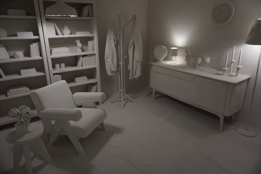 Calcified Living Room Daniel Arsham Moco Museum Amsterdam Nederland