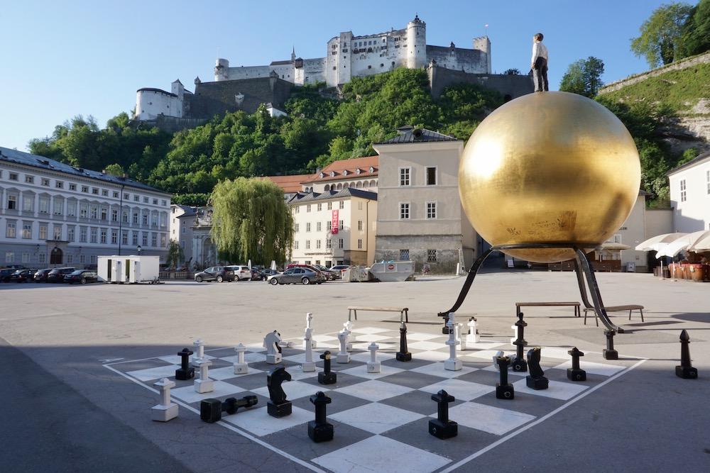 Sphaera Stephan Blankenhol Walk of Modern Art Salzburg Oostenrijk