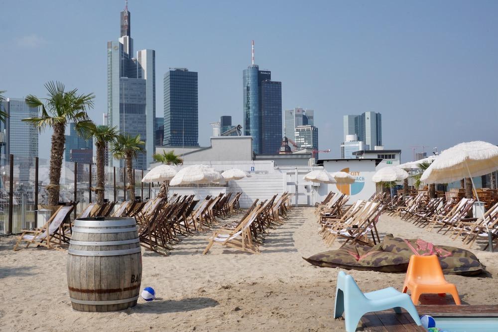 City Beach Frankfurt am Main Duitsland