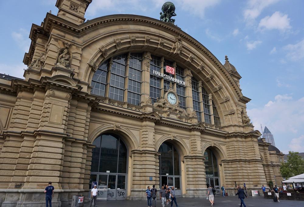 Frankfurt Hauptbahnhof Duitsland