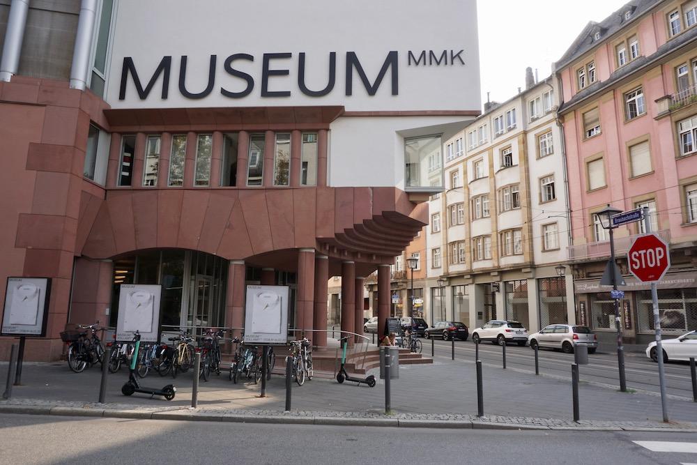 Museum für Moderne Kunst MMK Frankfurt am Main Duitsland