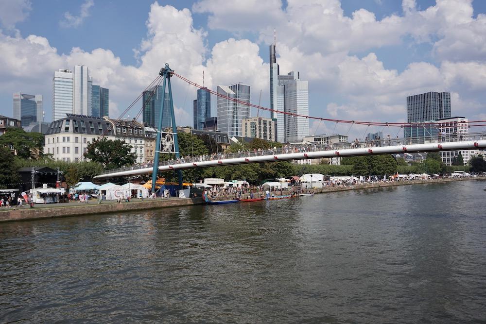 Museumsuferfest Frankfurt am Main Duitsland