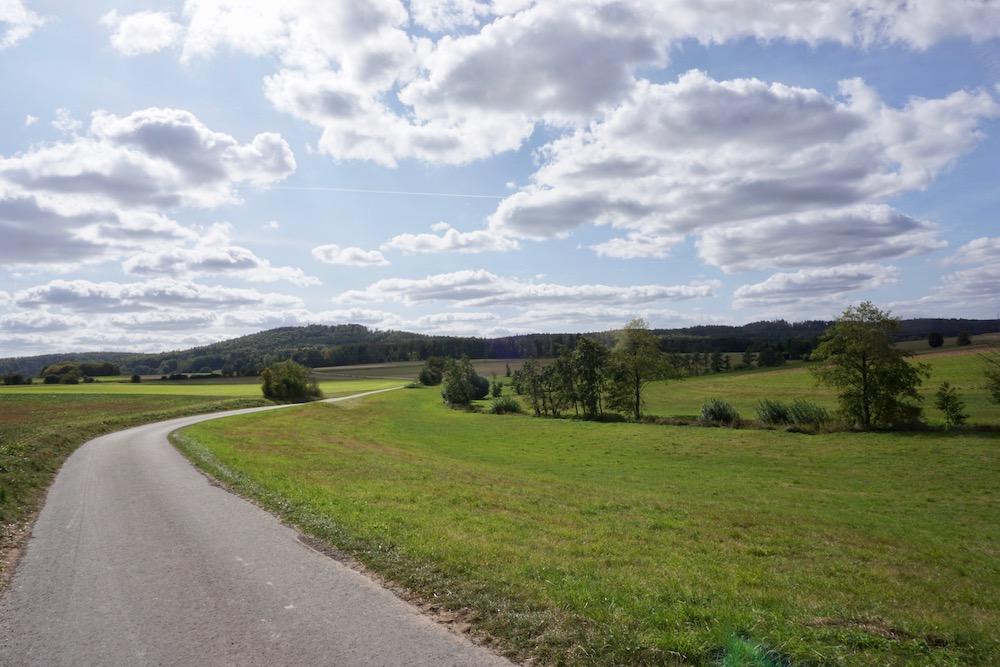 Wandelen Habichtswaldsteig Hessen Duitsland