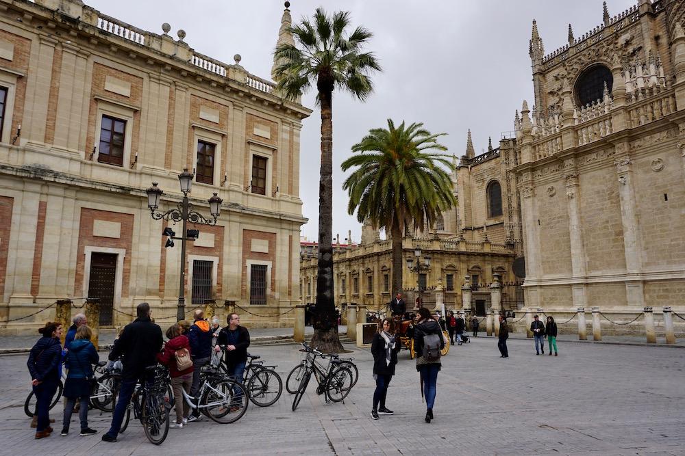 Fietsen op reis Sevilla Spanje