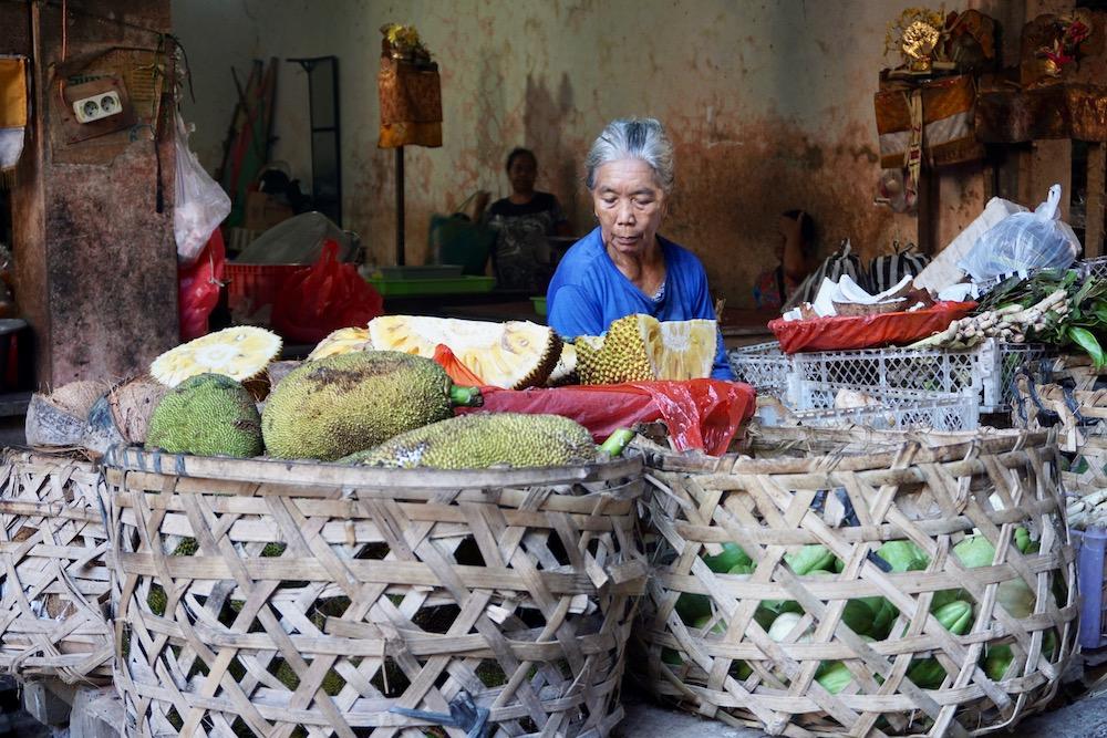 Markt Ubud Bali Indonesië