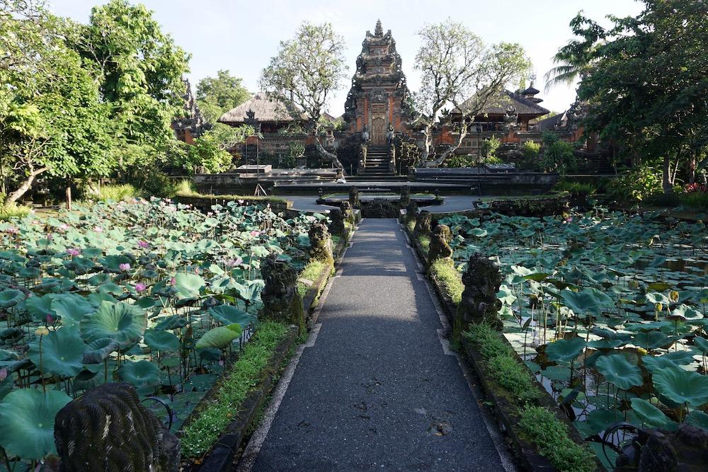 Pura Taman Saraswati Ubud Bali Indonesië