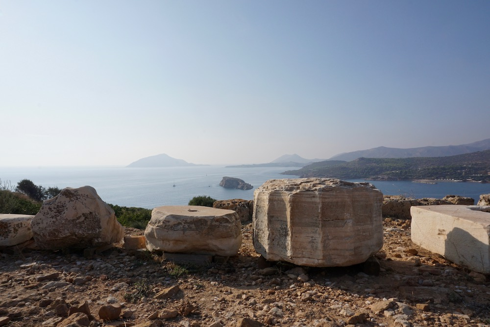 Tempel van Poseidon Kaap Sounio Griekenland