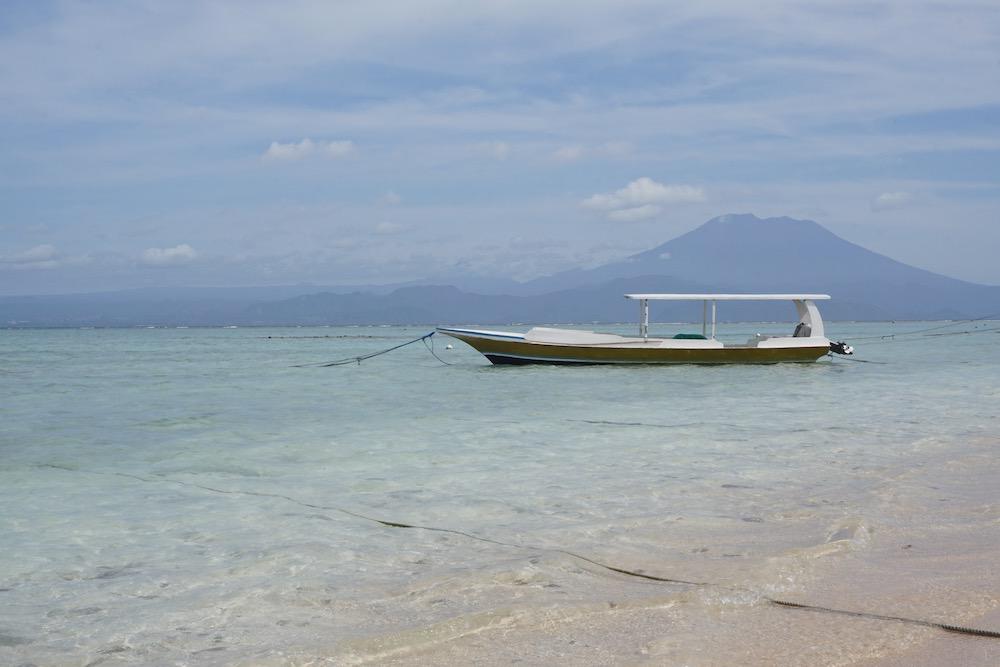 Jungut Batu Beach Nusa Lembongan Bali Indonesië