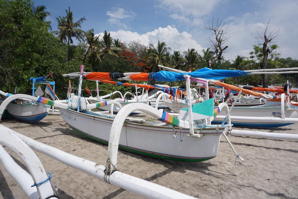 White Sand Beach bali Indonesië