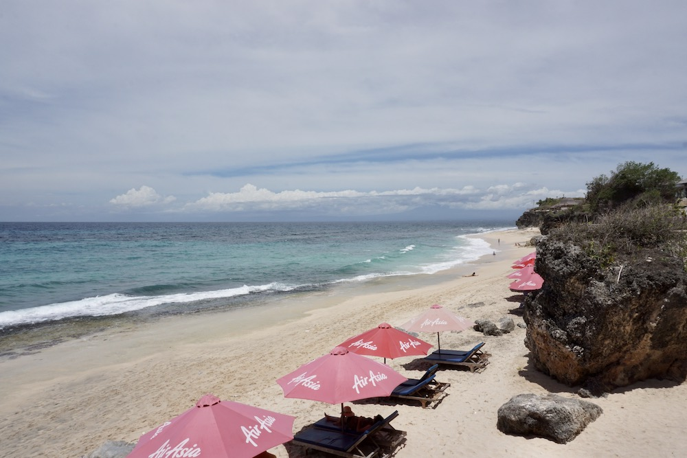 Dreamland Beach Uluwatu Bali Indonesië