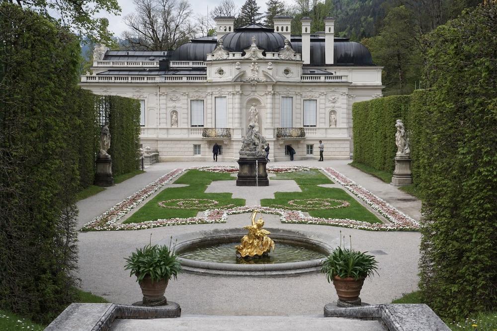 Duitse Alpenroute Schloss Linderhof Duitsland
