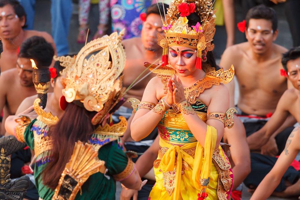 Kecak Dance Uluwatu Bali Indonesie