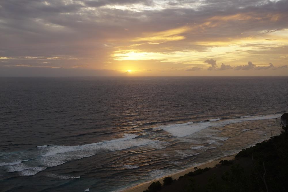 Zonsondergang Uluwatu Bali Indonesië