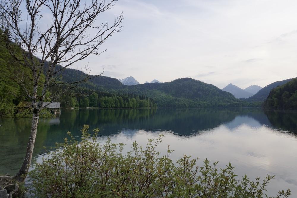 Duitse Alpenroute Alpsee Duitsland
