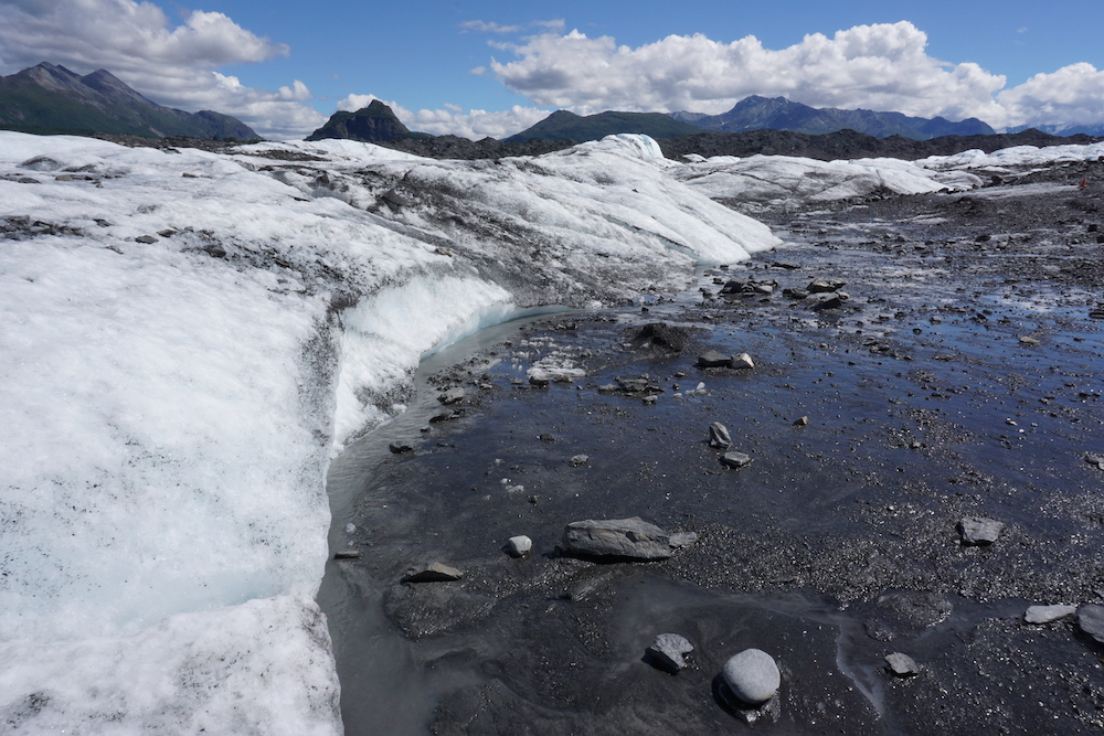 Matanuska Glacier Alaska Verenigde Staten