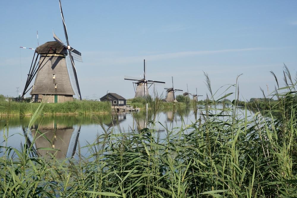 Molens Kinderdijk Nederland