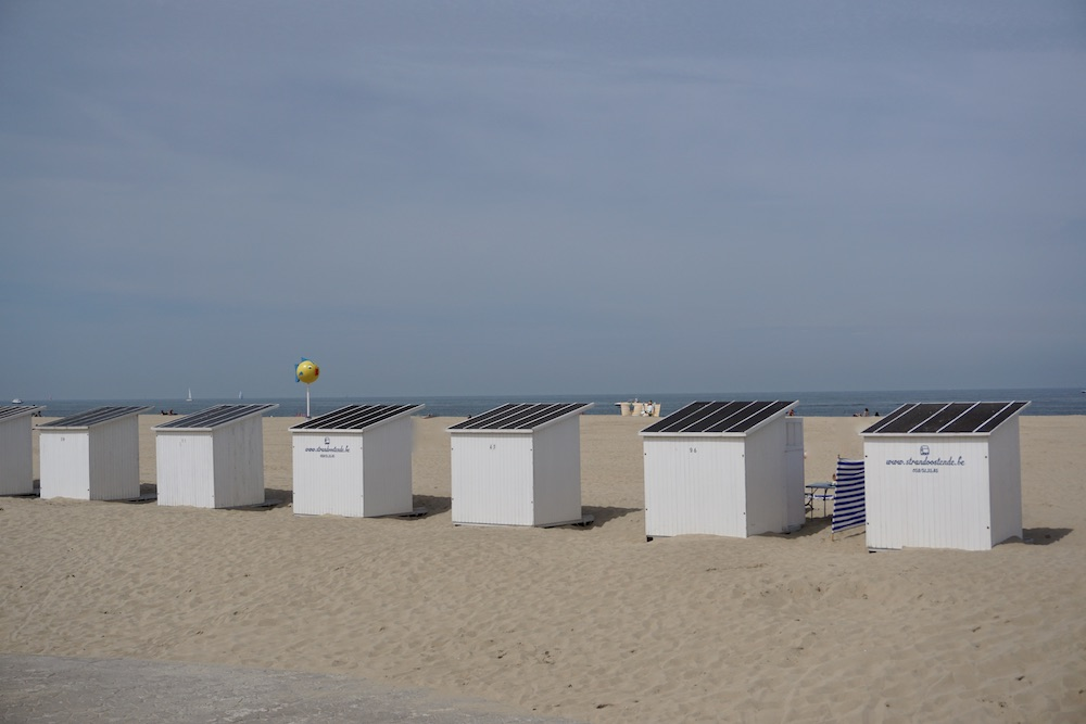Strand Oostende België