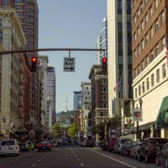 Southwest Living Rooms Divider In Room Downtown Portland: The Central Hub Of City's ...
