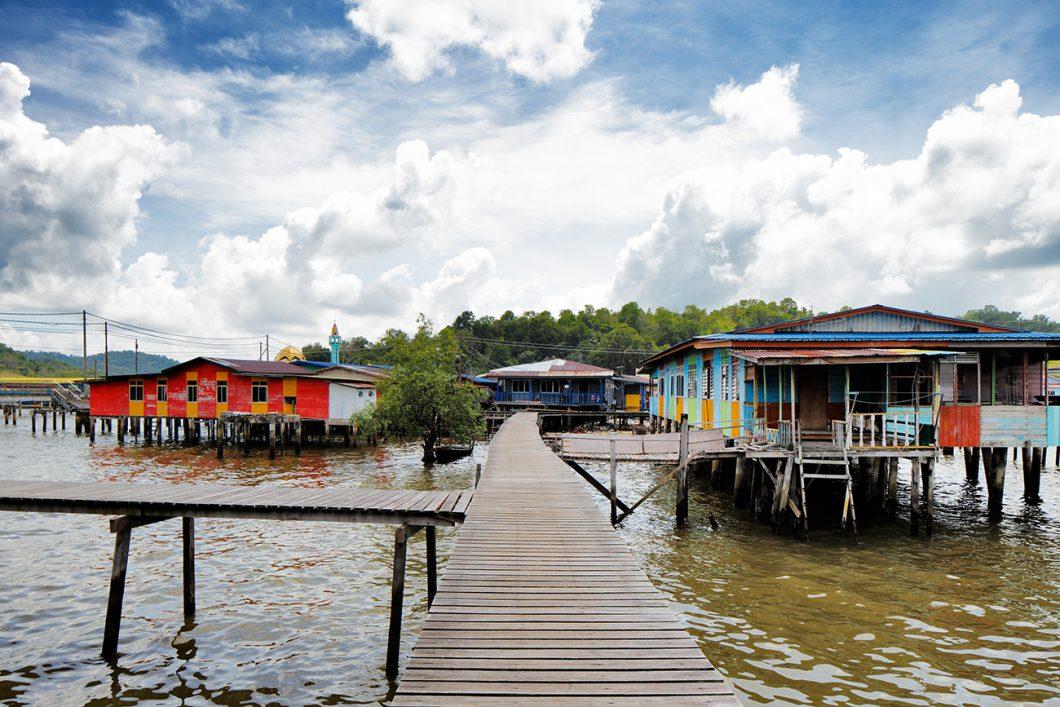 Kampug Ayer residential querter