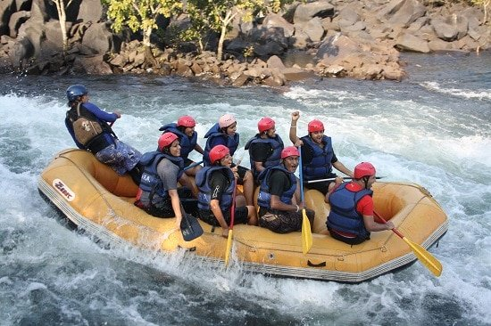 Dandeli rafting - things to do in goa