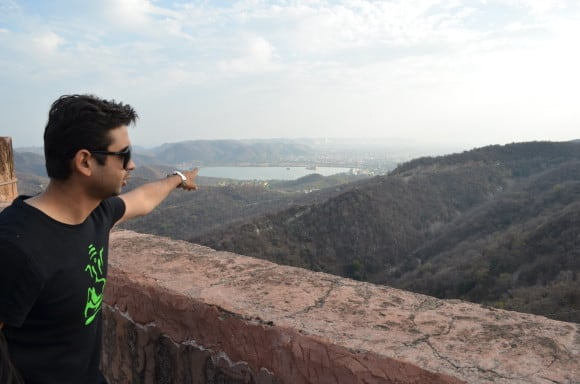 View from Jaigarh Fort (Places to visit in Jaipur)