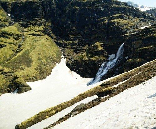 Lower Waterfal - Rupin Pass Trek - Day 6