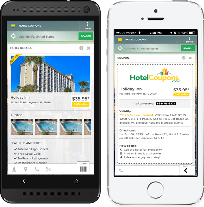 HotelCoupons.com App