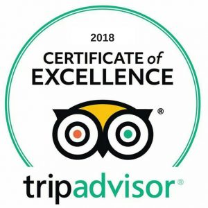 Image result for 2018 tripadvisor certificate of excellence