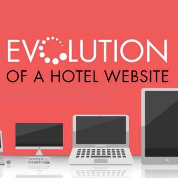 Evolution of a Hotel Website